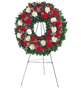 Hope and Honor Wreath in Hudson, New Port Richey, Spring Hill FL, Tides 'Most Excellent' Flowers