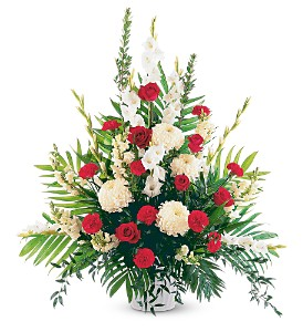 Cherished Moments Arrangement in Evansville IN, Cottage Florist & Gifts
