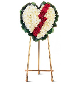 Broken Heart in St. Louis MO, Walter Knoll Florist