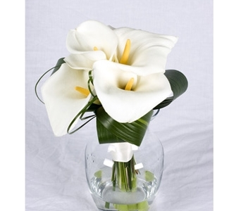 Calla Lily Bouquet in St Catharines ON, Vine Floral