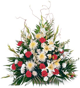 Glory and Grace Arrangement in Randallstown MD, Raimondi's Funeral Flowers