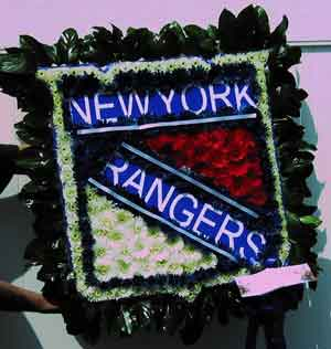 Rangers Logo in Belford NJ, Flower Power Florist & Gifts