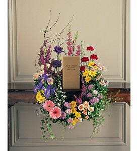 Cremation Urn Wreath in Baltimore MD, Gordon Florist