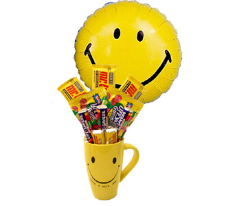 Happy Face Candy Bouquet in Birmingham AL, Norton's Florist