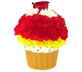 Blooming Cupcake in Baltimore MD, Raimondi's Flowers & Fruit Baskets