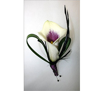 Mini Calla Boutonniere in Hudson NH, Anne's Florals & Gifts