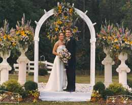 Wedding Ceremony Fairytale in Cabool MO, Cabool Florist At Cleea's