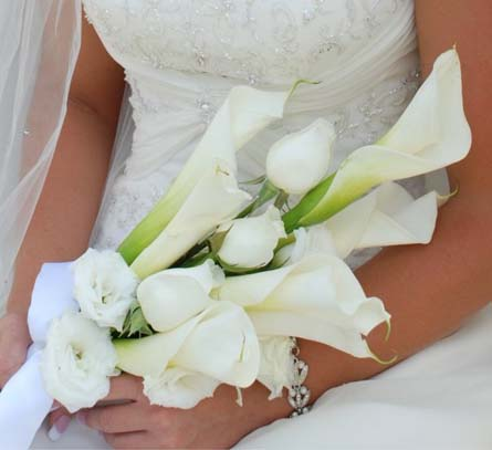 Wedding Bokay Pure White Elegance in Cabool MO, Cabool Florist At Cleea's