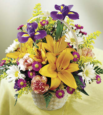 The FTD� Natural Wonders� Bouquet in Chicago IL, Yera's Lake View Florist
