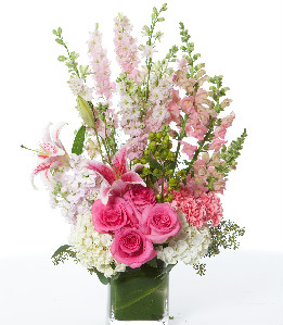 PRETTY IN PINK in Longmont CO, Longmont Florist, Inc.