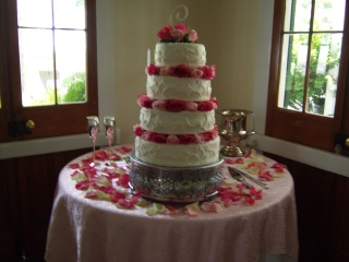 Wedding Cake 1 in Gautier MS, Flower Patch Florist & Gifts
