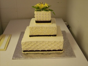 Wedding Cake 2 in Gautier MS, Flower Patch Florist & Gifts