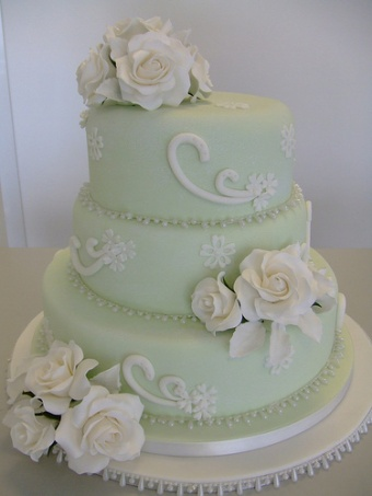 Weding Cake 4 in Gautier MS, Flower Patch Florist & Gifts