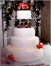 Wedding Cake 5 in Gautier MS, Flower Patch Florist & Gifts