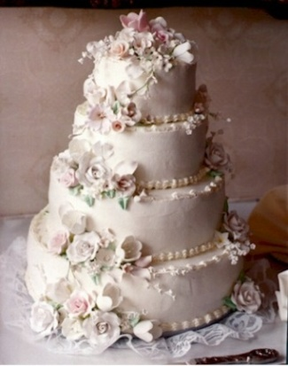 Wedding Cake 6 in Gautier MS, Flower Patch Florist & Gifts