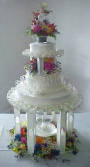 Wedding Cake 10 in Gautier MS, Flower Patch Florist & Gifts