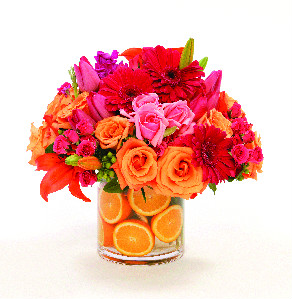 ORANGE BLOSSOM BOUQUET in Longmont CO, Longmont Florist, Inc.