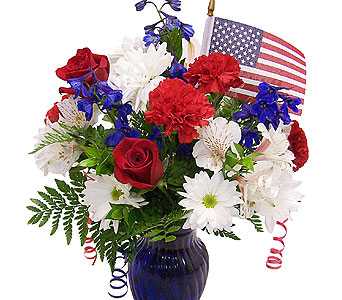 Patriotic Celebration in Mesa AZ, Watson Flower Shops