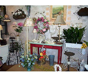 Inside Our Store in Ellwood City PA, Posies By Patti
