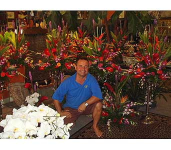 FLOWERS FOR TOM JONES EVENT in St. Pete Beach FL, Flowers By Voytek