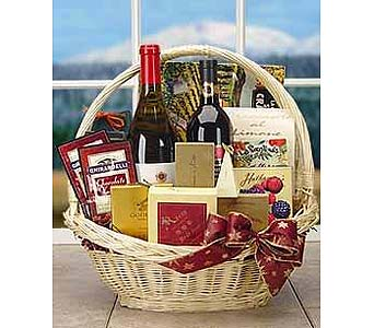 Premium Wine and Gourmet Basket in Palm Desert CA, Milan's Flowers & Gifts