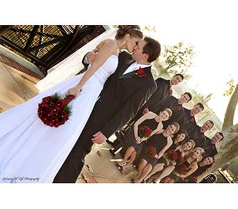 Custom Wedding in Bakersfield CA, White Oaks Florist
