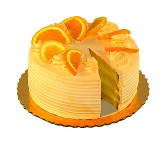 Creamsicle Cake by Bakery Delights in Baltimore MD, Raimondi's Flowers & Fruit Baskets