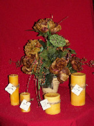 Candles in Ripley MS, House Of Flowers