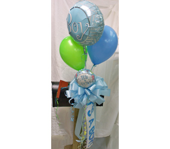 Its a Boy! Mailbox Bow - Deluxe in Nashville TN, The Bellevue Florist