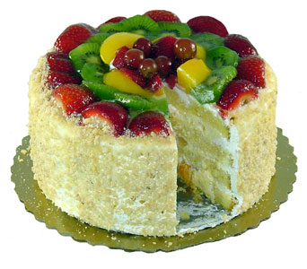 Passion Fruit Cake by Bakery Delights in Baltimore MD, Raimondi's Flowers & Fruit Baskets