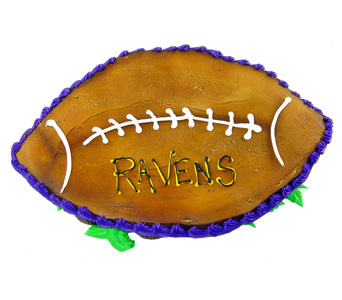 Football Cupcake Cake in Baltimore MD, Raimondi's Flowers & Fruit Baskets