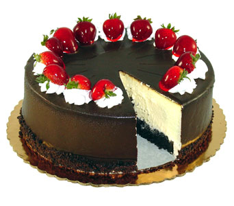 Tuxedo Cheesecake by Bakery Delights in Baltimore MD, Raimondi's Flowers & Fruit Baskets