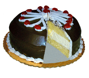 Boston Cream Cake by Bakery Delights in Baltimore MD, Raimondi's Flowers & Fruit Baskets