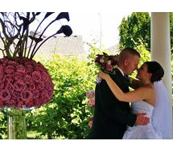 Wedding in Lewiston ID, Floral Artistry LLC & Espresso Garden