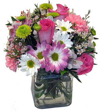Summer's Last Pastels  in Newport News VA, Pollards Florist
