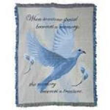 dove memory throw in Crown Point IN, Debbie's Designs