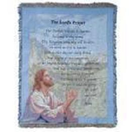 Lord's Prayer Throw in Crown Point IN, Debbie's Designs