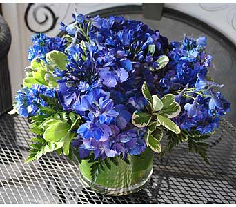 September SAPPHIRE Gemstone Bouquet in Massapequa Park NY, Bayview Florist & Montage  1-800-800-7304