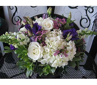 June MOONSTONE Birthstone Bouquet in Massapequa Park NY, Bayview Florist & Montage  1-800-800-7304
