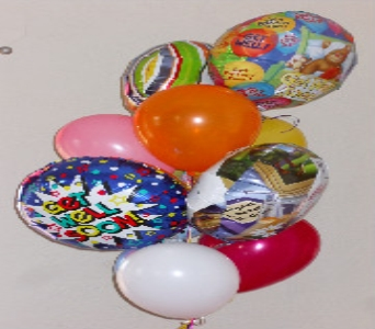 Get Well Soon Balloon Bouquet in El Paso TX, Kern Place Florist