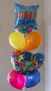 Happy Birthday Balloon Bouquet in El Paso TX, Kern Place Florist