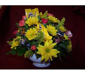 Candy Bar Bouquets in Bedford IN, Bailey's Flowers & Gifts