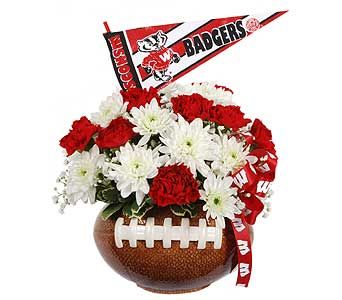 Badger Football in Madison WI, Felly's Flowers