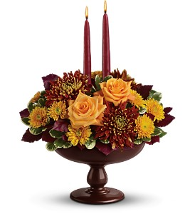 Teleflora's Harvest Bowl Bouquet in Commerce Twp. MI, Bella Rose Flower Market