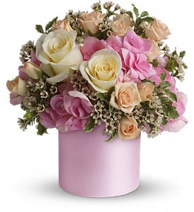 Teleflora's Blushing Beauty in Houston TX, Simply Beautiful Flowers & Events