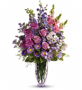 Steal The Show by Teleflora with Roses in Trumbull CT, P.J.'s Garden Exchange Flower & Gift Shoppe