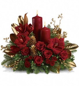 Candlelit Christmas in Visalia CA, Flowers by Peter Perkens Flowers Inc.