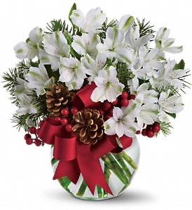 Let It Snow in Merced CA, A Blooming Affair Floral & Gifts