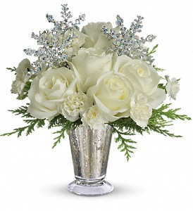 Teleflora's Winter Glow in New Milford PA, Forever Bouquets By Judy