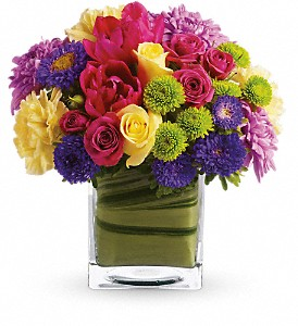 Teleflora's One Fine Day in flower shops MD, Flowers on Base